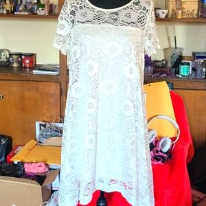 Robbie Bee white lace shezth